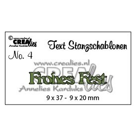 Frohes Fest 9x37-9x20mm