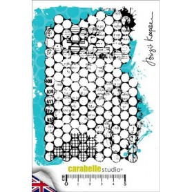 Cling Stamp : Punchanella Background