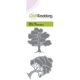 CraftEmotions Die - Bäume 2 Card 5x10 cm