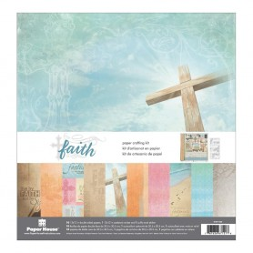 "Paper House Paper Crafting Kit 12""X12"" Faith ( Glaube )"