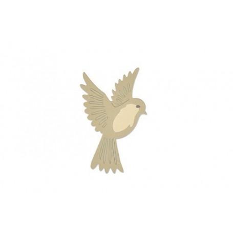 Sizzix Thinlits Die Set - Natural bird