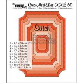 Crealies Crea-nest-dies XXL no. 60 11,0x15,4 cm