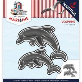 Die - Amy Design - Maritime - Dolphins
