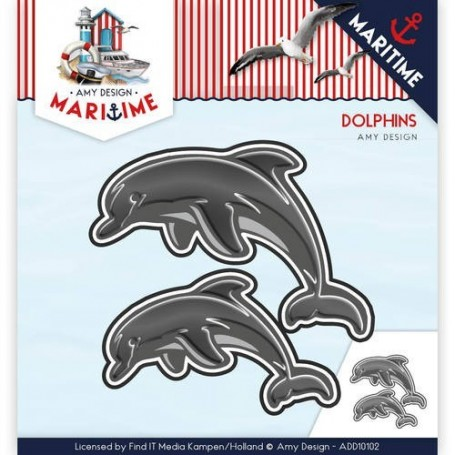 Die - Amy Design - Maritime - Dolphins