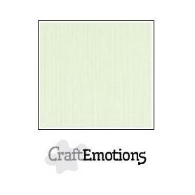 CraftEmotions Leinenkarton 10 Bg hellgrün 27x13,5cm 250gr
