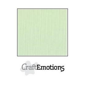 CraftEmotions Leinenkarton 10 Bg grün 27x13,5cm 250gr