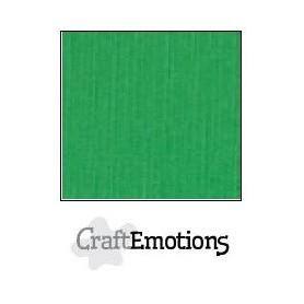 CraftEmotions Leinenkarton 10 Bg Gras grün 27x13,5cm 250gr