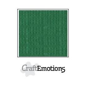 CraftEmotions Leinenkarton 10 Bg Blattgrün 27x13,5cm 250gr