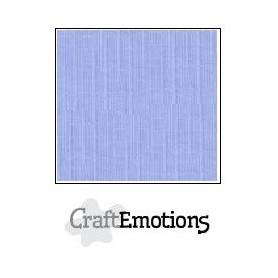 CraftEmotions Leinenkarton 10 Bg hell Jeans 27x13,5cm 250gr