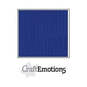 CraftEmotions Leinenkarton 10 Bg blau 27x13,5cm 250gr