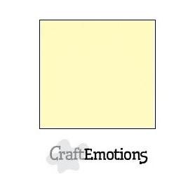 CraftEmotions Leinenkarton 10 Bg hellgelb 27x13,5cm 250gr