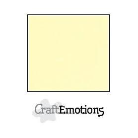 CraftEmotions Leinenkarton 10 Bg gelb 27x13,5cm 250gr