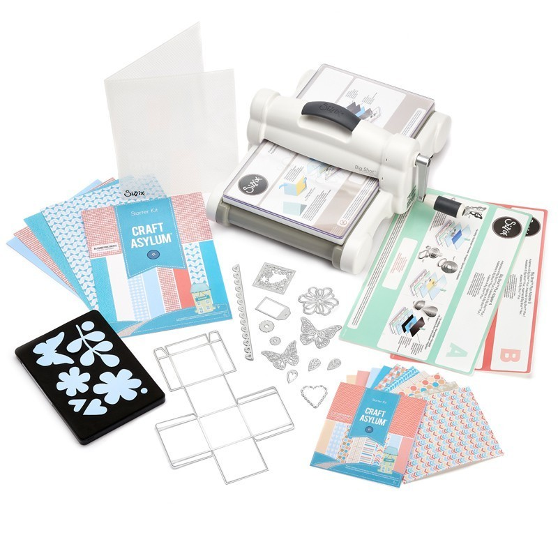 Big Shot Plus Starter Kit NEU NEU NEU stanzt im A4 Format