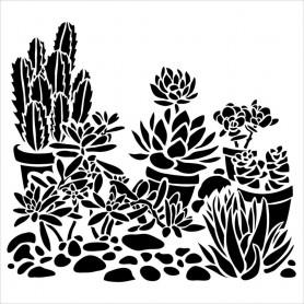 Crafter's Workshop Template 12 x 12 Desert Garden
