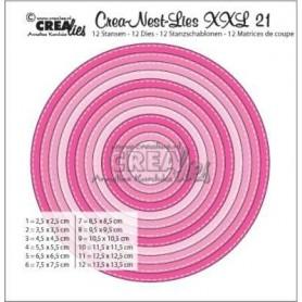 Crealies Crea-nest-dies XXL no. 21 2,5 cm - 13,5 cm