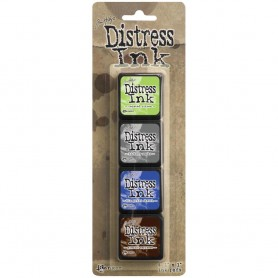 Distress Mini Ink Kits Kit 14