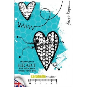 Cling Stamp : Follow your heart
