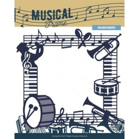 Die - Music Series - Musical Frame 14,5 x 14 cm