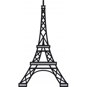 Marianne D Craftables Eiffelturm