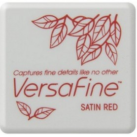Versafine Stempelkissen klein Satin red
