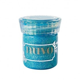 Nuvo glimmer paste - blue topaz