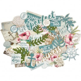 Kaisercraft Island Escape Collectables Cardstock Die-Cuts