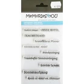 Memories4you Urlaub-Meer