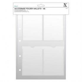 Xcut A4 Hüllen Für Prägeschablonen (6Stk) - A6