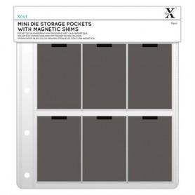 Xcut Hüllen Für Mini-Stanzschablonen Mit Magnetischen Einlagen (10Stk)