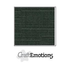 CraftEmotions Leinenkarton 10 Bg olive 27x13,5cm 250gr