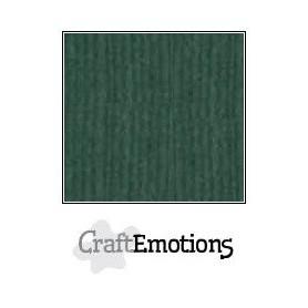 CraftEmotions Leinenkarton 10 Bg Smaragd 27x13,5cm 250gr