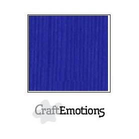 CraftEmotions Leinenkarton 10 Bg kobaltblau 27x13,5cm 250gr