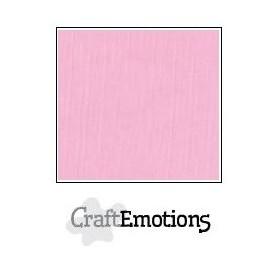 CraftEmotions Leinenkarton 10 Bg rosa 27x13,5cm 250gr