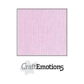 CraftEmotions Leinenkarton 10 Bg pastell lila 27x13,5cm 250gr