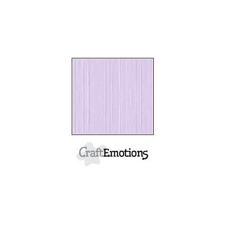 CraftEmotions Leinenkarton 10 Bg Lavendel Pastell 27x13,5cm 250gr
