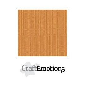 CraftEmotions Leinenkarton 10 Bg Toffee 27x13,5cm 250gr