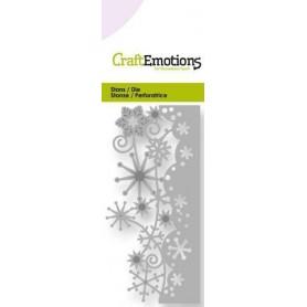 CraftEmotions Die - Kristall Ornament Rand Card 5x10cm