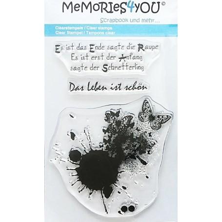 Memories4you Grunge Schmetterling 001