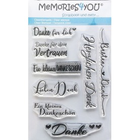 Memories4you Stempel Danke 01