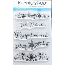 Memories4you Stempel  Weihnachten