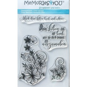 Memories4you Stempel Bllume 01