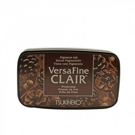 Versafine ink pad Dark Pinecone