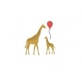 Sizzix Thinlits Die Set 5PK - Giraffes Sharon Drury