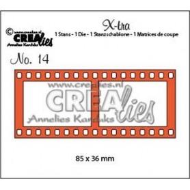 Crealies X-tra no. 14 Filmstreifen groß 85 x 36 mm / CLXtra14