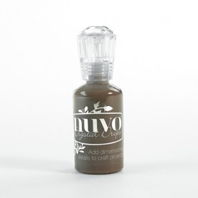 Nuvo crystal drops - dark walnut