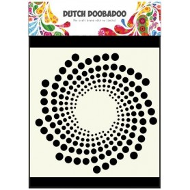 Dutch Doobadoo Dutch Mask Art stencil Sonne