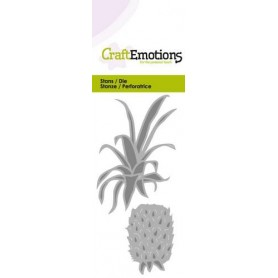 CraftEmotions Die - Ananas Card 5x10cm