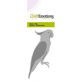 CraftEmotions Die - Kakadu Card 5x10cm
