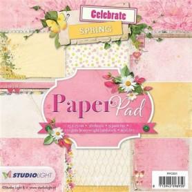 Studio Light Paper pad 36 Bogen 12 designs nr 38  15x15cm
