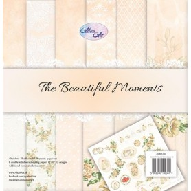 "Paper Collection Set 12""*12"" The Beautiful Moments 250 gsm"